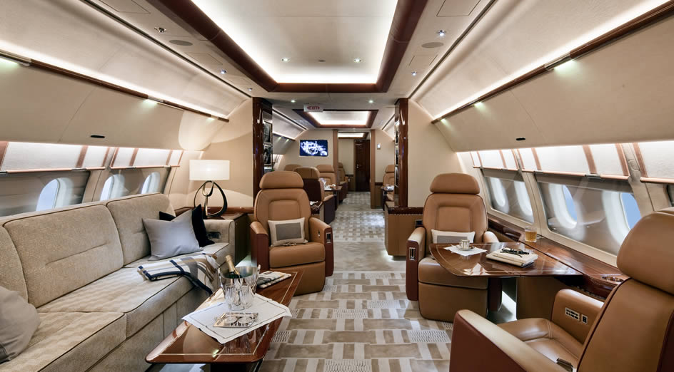 Top 5 Private Jet Interiors  The SimpleCharters Blog