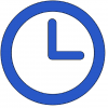 Clock representing time flexibility