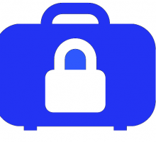 Briefcase representing security